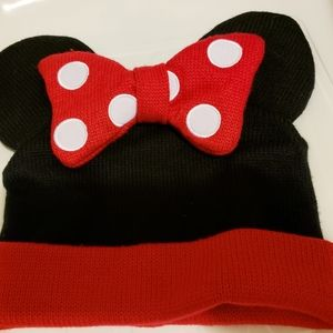 👒Minnie Mouse Knit Hat